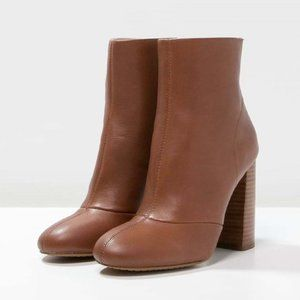 French Connection Capri Ankle Boots  Brown US: 9.5